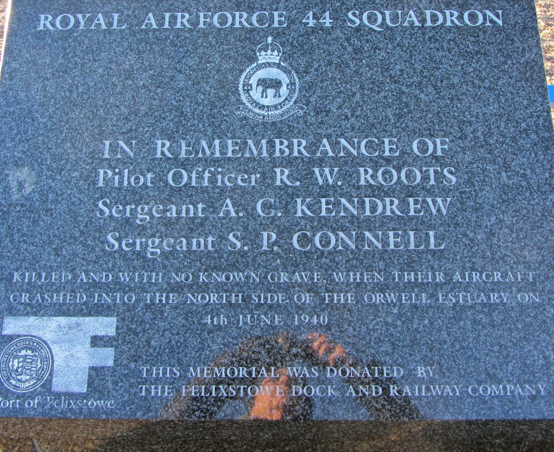 Royal Air Force Squadron 44 - War Memorials Online