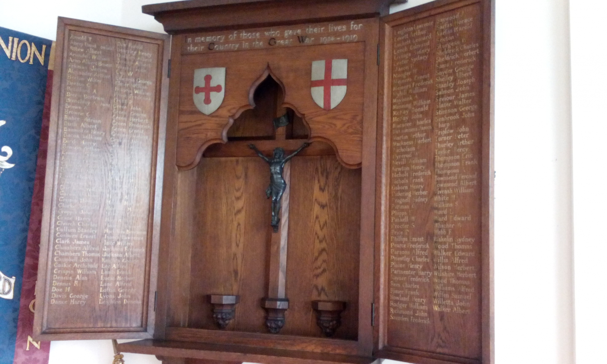 St Michael and All Angels, Little Ilford - War Memorials Online