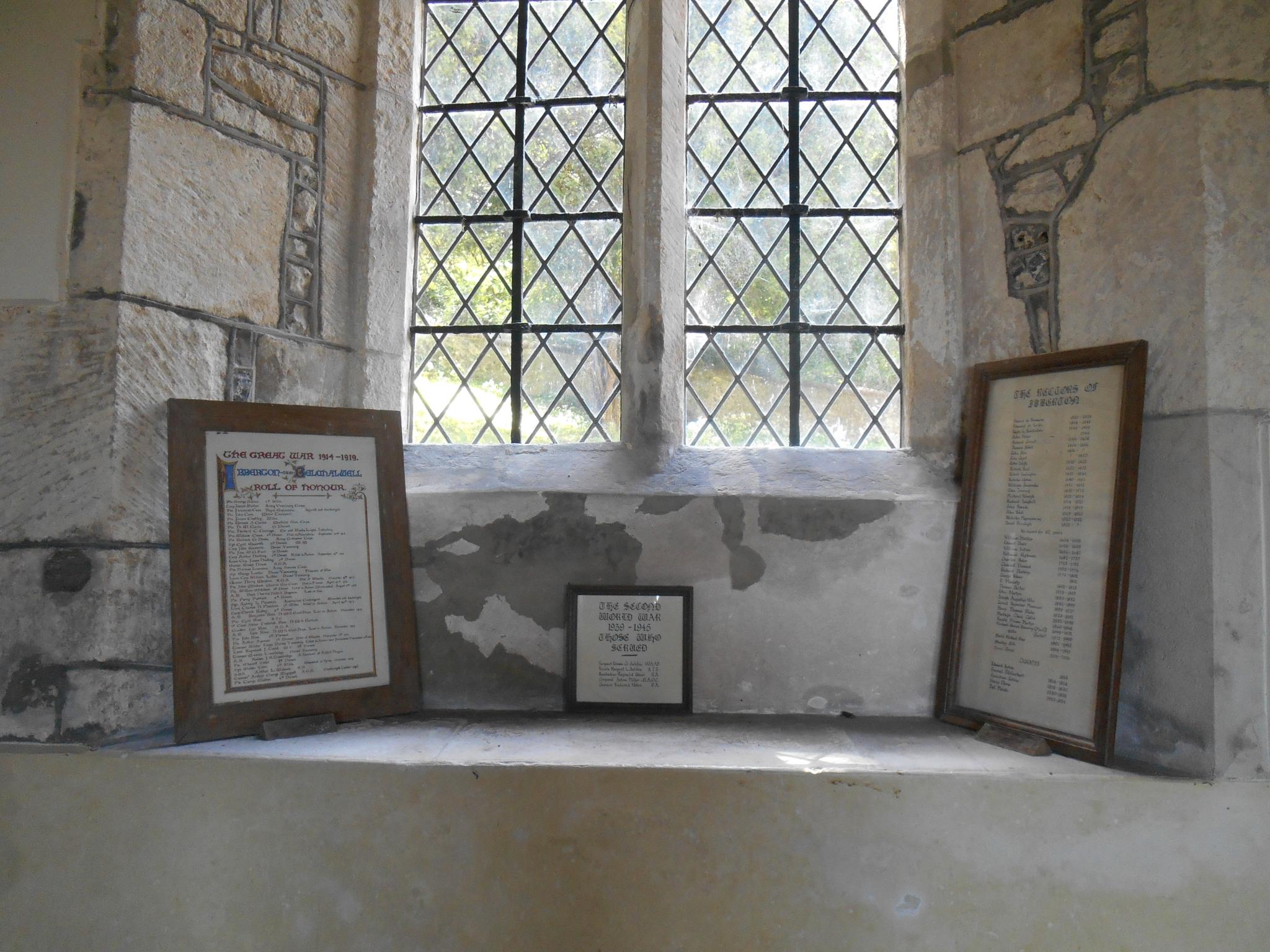 IBBERTON AND BELCHALWELL WW1 ROLL OF HONOUR - War Memorials Online